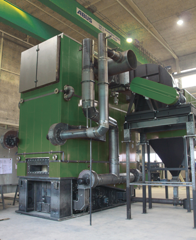 Biomass for industrial and process heat, dryers, steam