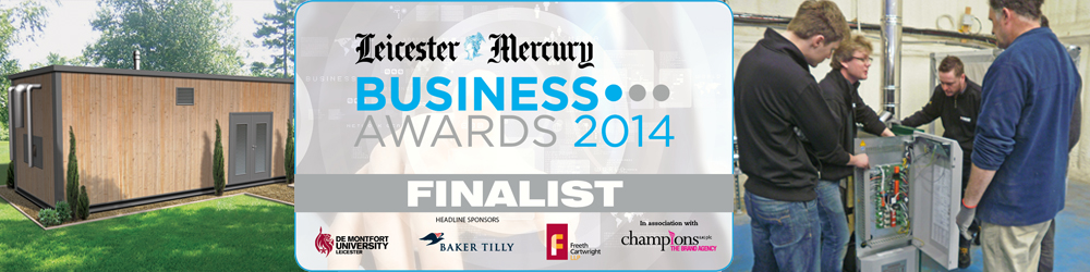 Leicester Mercury Business awards finalist banner