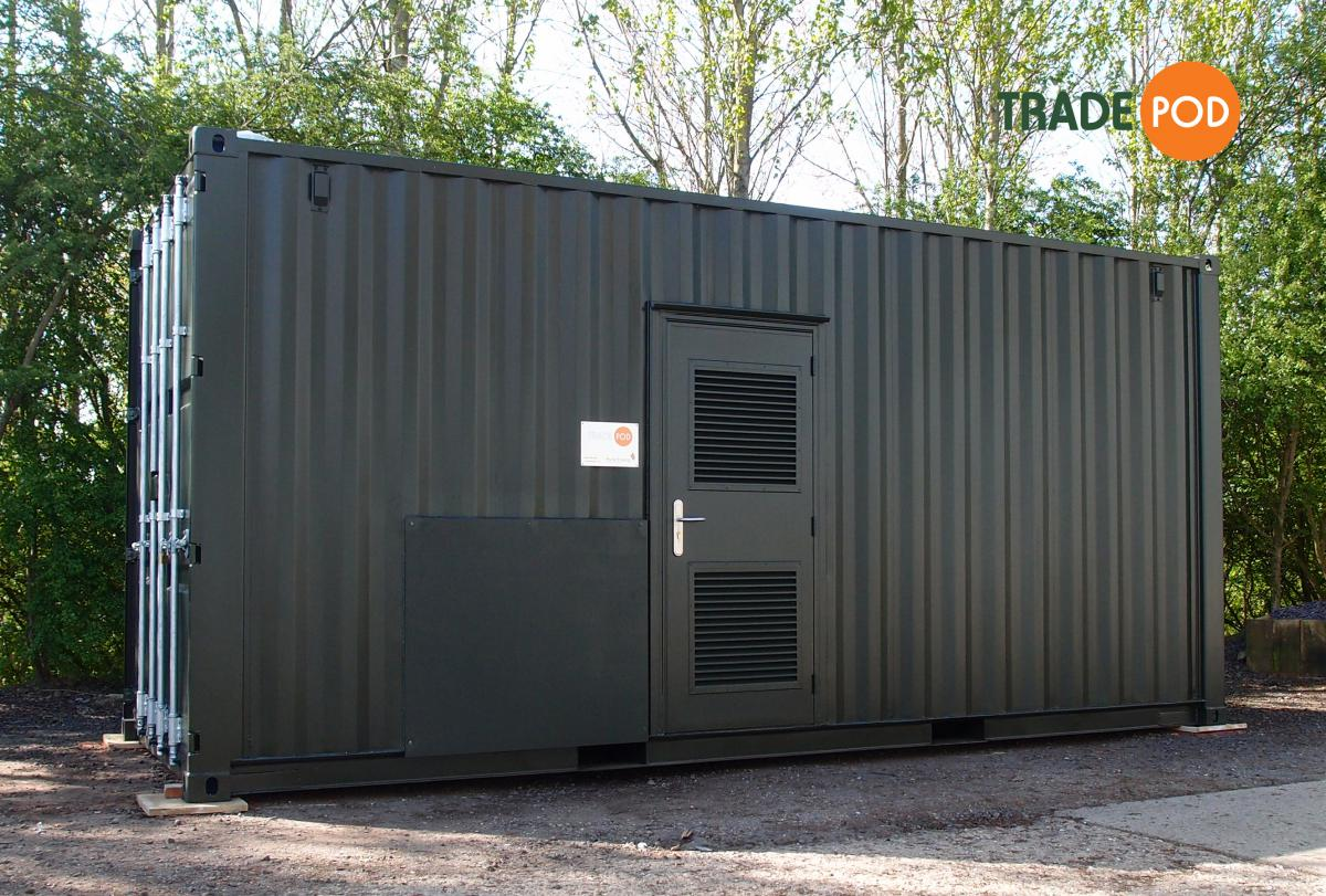 Trade Pod in situ at Rural Energy's Burrough Court head office