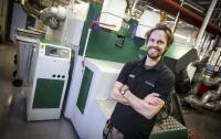 Ben Herz engineer at Blackpool The Harbour