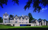 Merlewood has a historic building plus new build cottages and flats with a pool