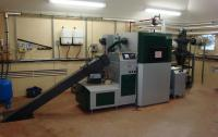 Scotney Castle's biomass plant room