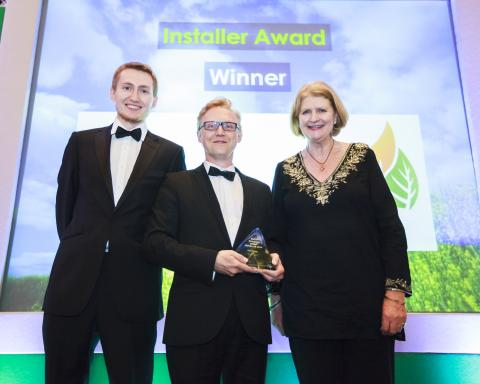 Rural Energy wins REA 'Installer of the Year' Award!