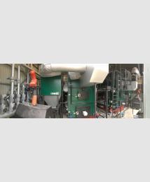Herz Binder Industrial boiler at JeldWen