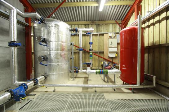 The plant room at Waterperry Gardens