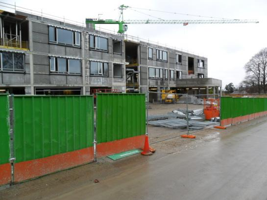 Stanley Park High School in construction phase