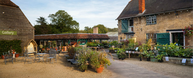 Waterperry Gardens, shop and site